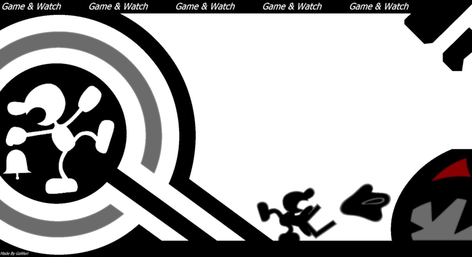 Mr Game And Watch Wallpaper By Gaweri On Deviantart