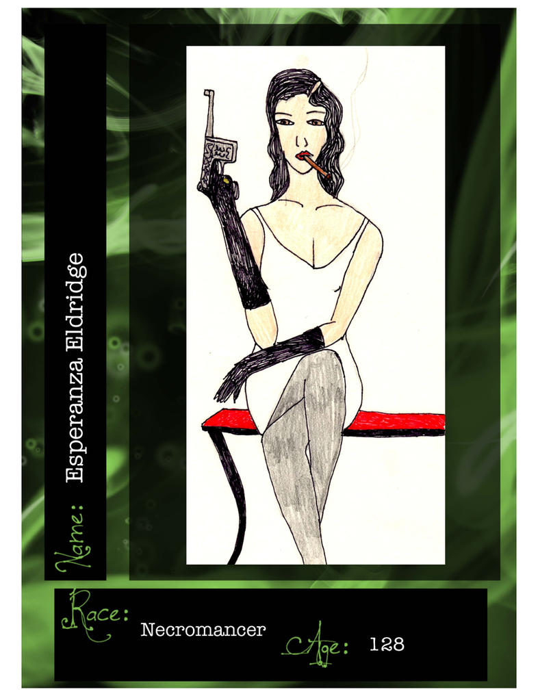 Esperanza Eldridge by JediHobbit89