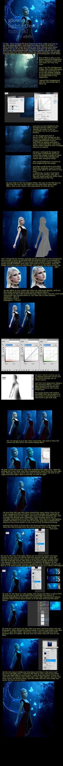 fantasy glow effect/ light effects part 1 by umbatman