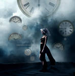 The time that has fallen by