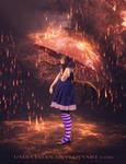 Rain and my Umbrella