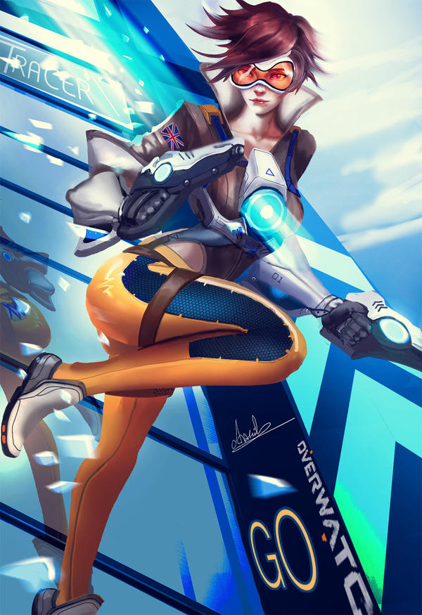 Tracer Go!!! by umbatman