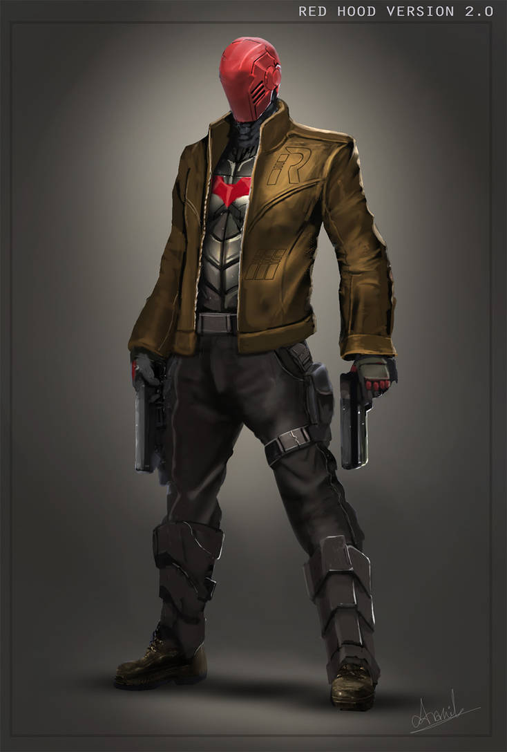 Red Hood With The Jacket 2.0 by umbatman