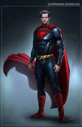 Superman 03 design