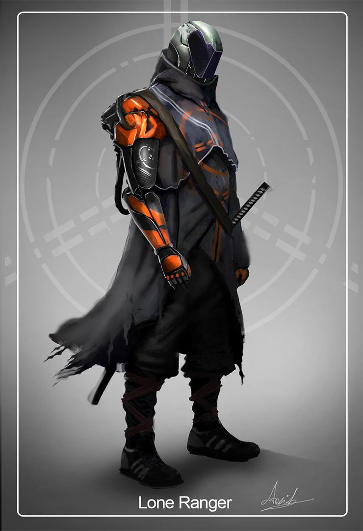 Lone Ranger: by umbatman