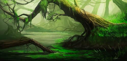 Swamp by umbatman