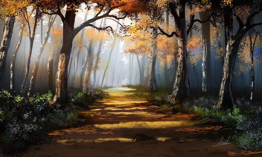 Walking In the Park by umbatman