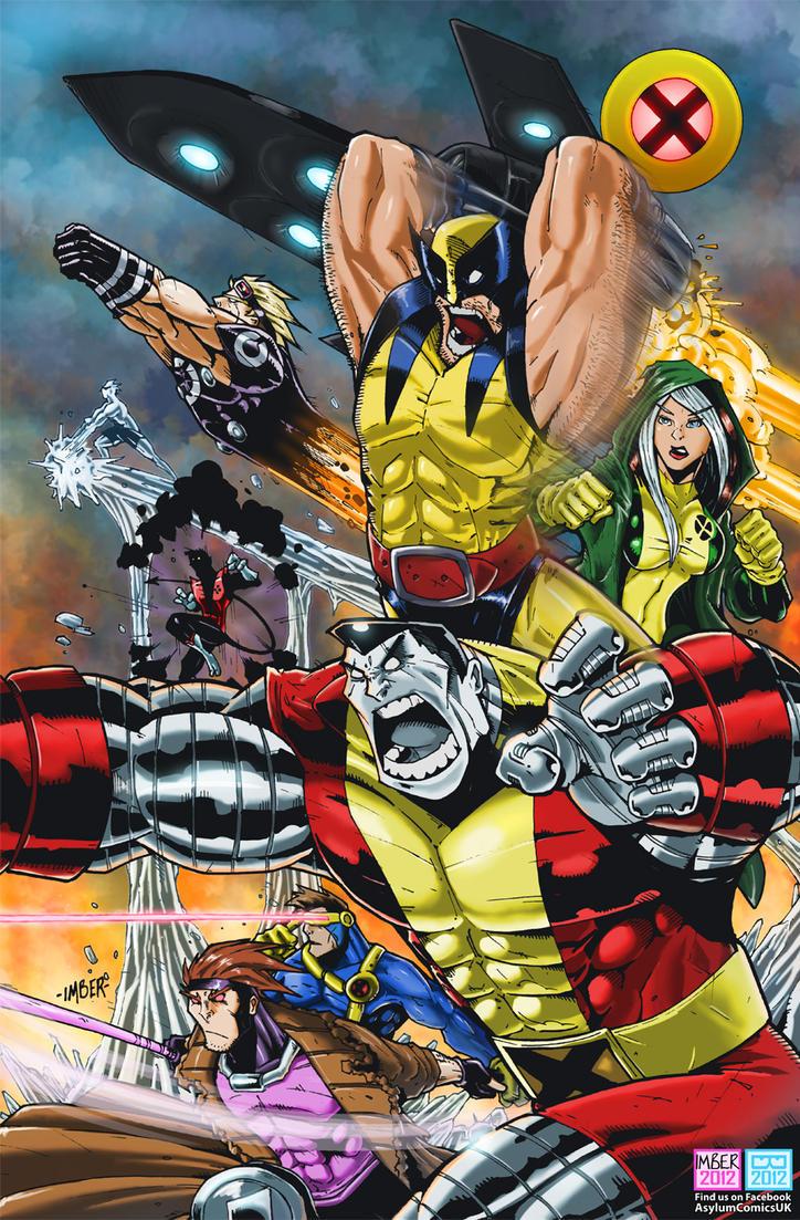 X-men 2012 by RecklessHero