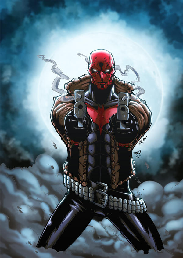 Red hood by recklesshero on deviantart - Hood cartoon wallpaper ...