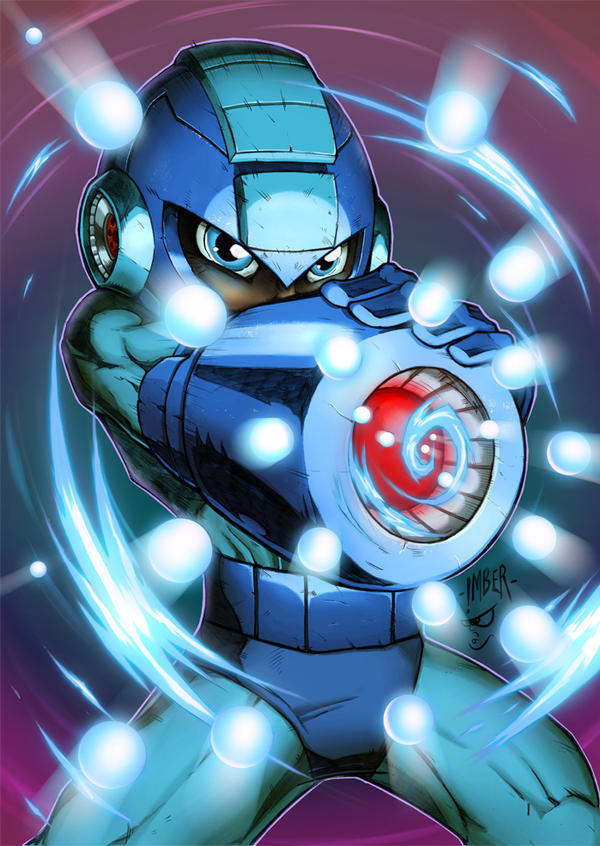 Megaman by RecklessHero