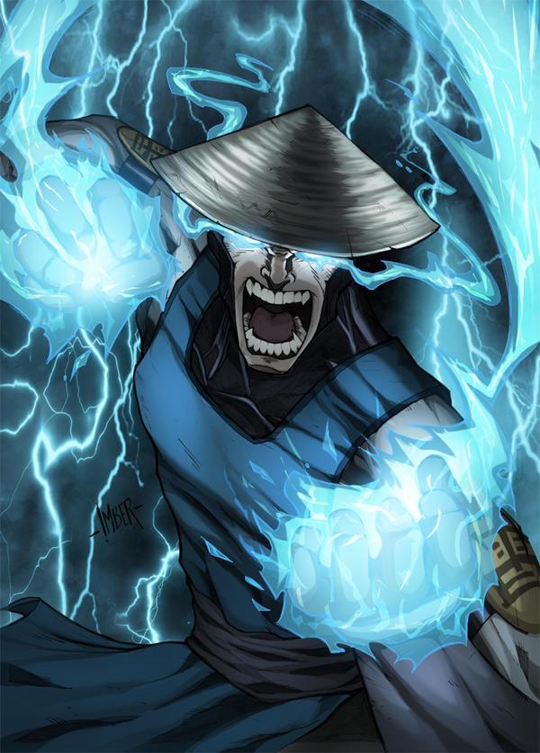 Mortal Kombat Raiden Drawings Raiden (Mortal Kombat)...