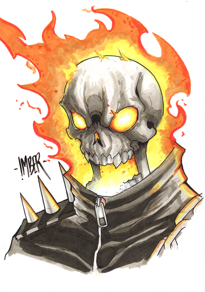 GhostRider by RecklessHero