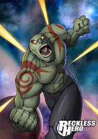 Drax the Destroyer by RecklessHero