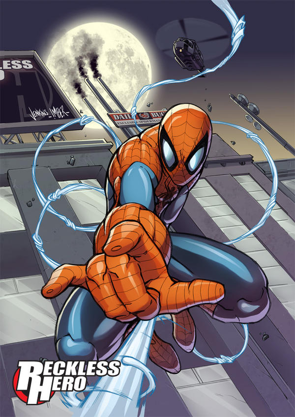 Spiderman by RecklessHero