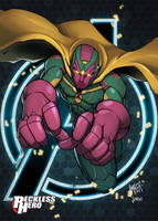 Avengers - The Vision by RecklessHero