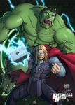 Avengers - Thor and Hulk
