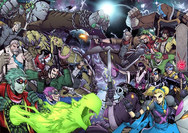 Creator Owned Mash Up