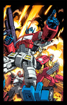 Transformers Colouring
