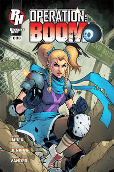 Operation: Boom Issue 3 Cover