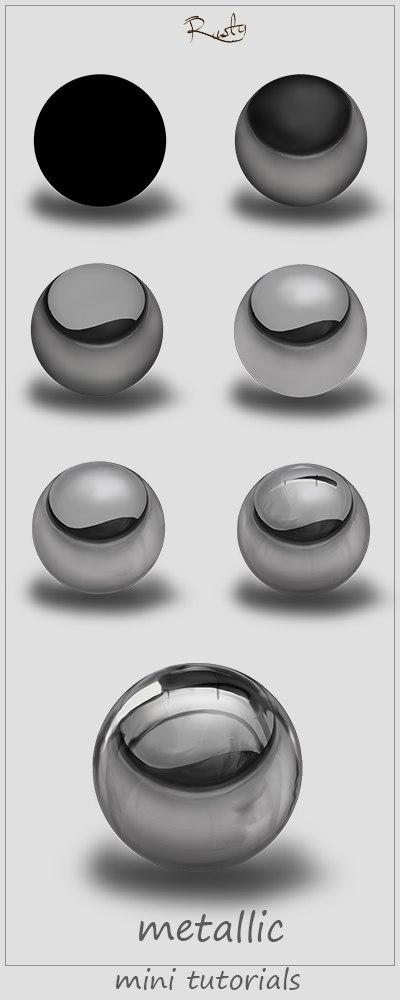 metallic by Vova-ramos