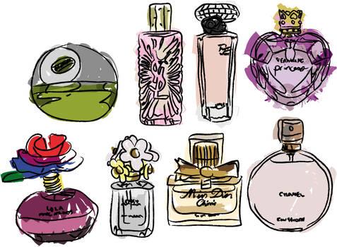 Perfum vector