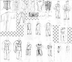 Fashion Design Idea Collection by BlackTowerOfTime