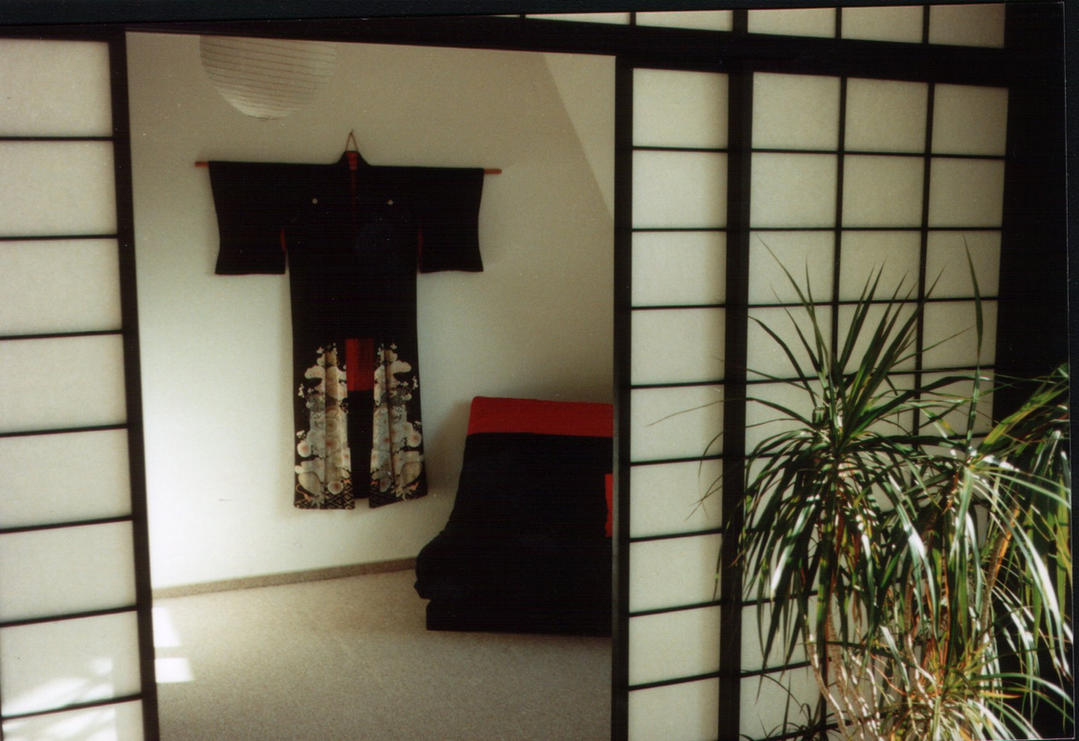 My old Room with Kimono by BlackTowerOfTime