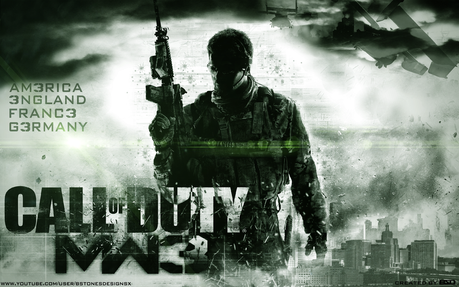 Call Of Duty MW3 Wallpaper By BstonesDesigns
