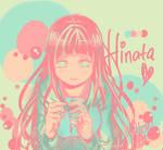 Hinata Hyuuga (color palette)