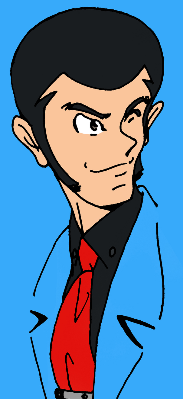 Lupin III: April Blue portrait by ShinRedDear