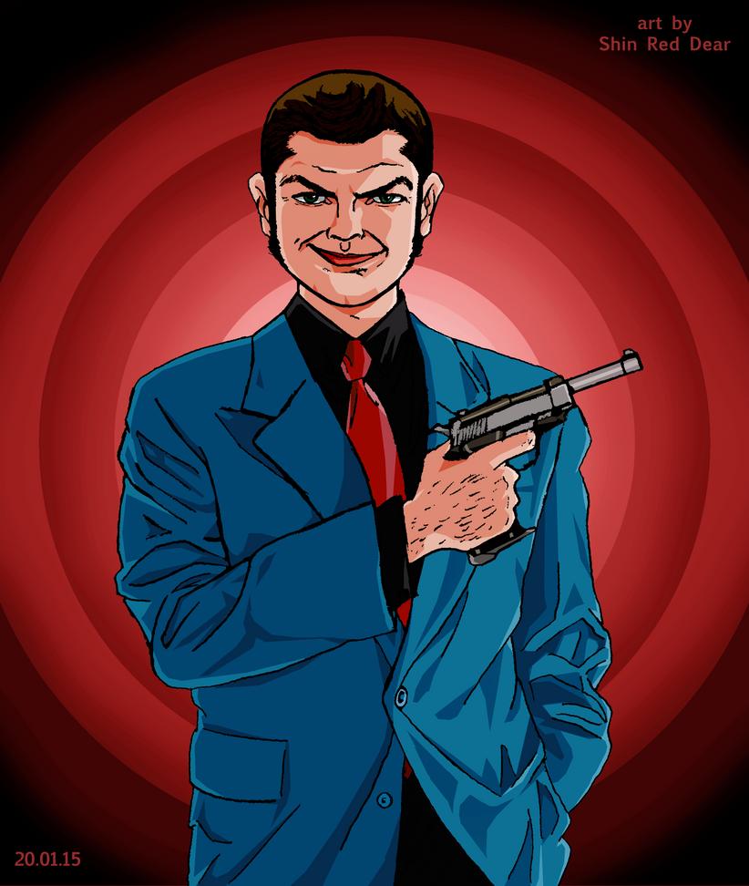 Lupin III: For the New Year redo Blue jacket by ShinRedDear