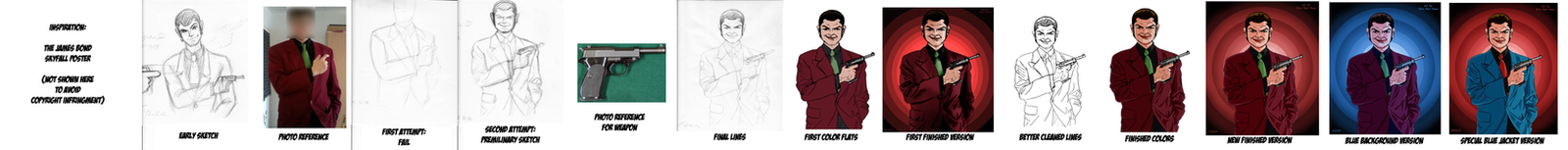 The Longuest WIP: Lupin III for the new year by ShinRedDear