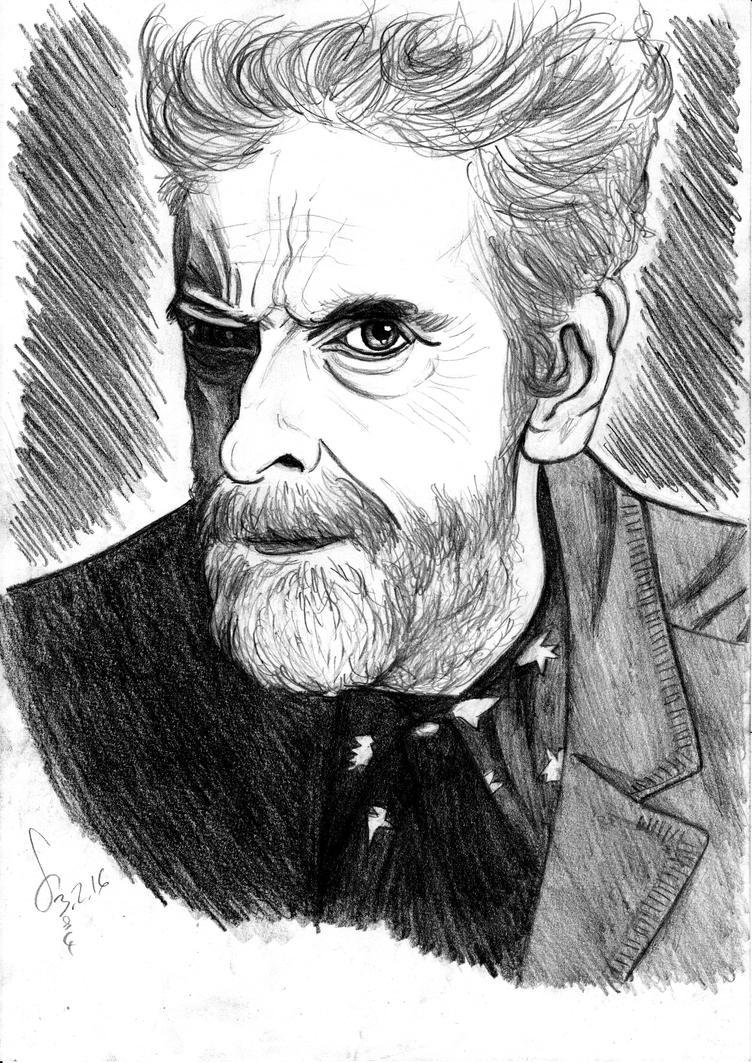 Beardpaldi the Rebel Time Lord ! by ShinRedDear