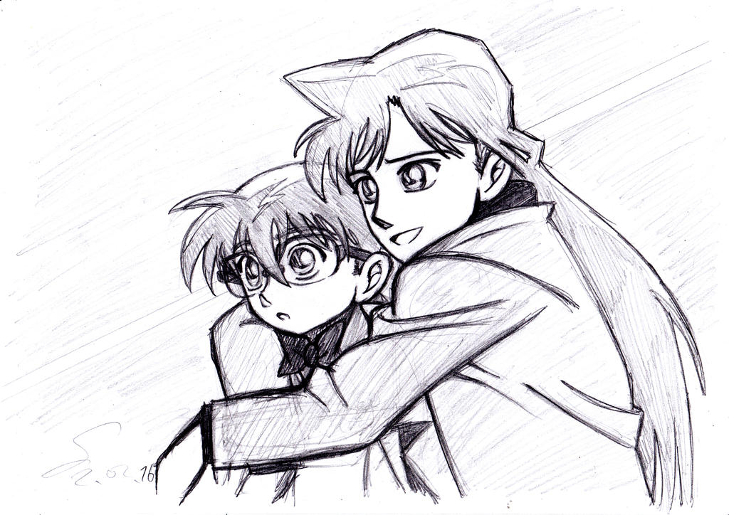 DC: Nostalgia Hug by ShinRedDear