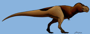 Feathered Tyrannosaurus V2 colored (updated)