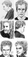 Peter Capaldi portrait compilation