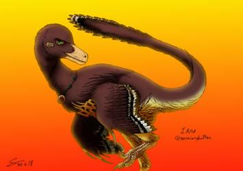 Request: Iara the feathered warrior by ShinRedDear