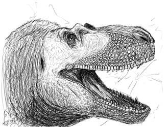 Daspletosaurus after c-compil by ShinRedDear