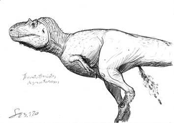 Thanatotheristes sketch by ShinRedDear