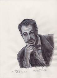 Vincent Price sketch portrait