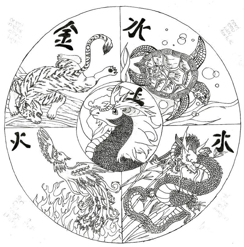 Chinese mandala by hemcara on deviantart - Mandala dragon ...