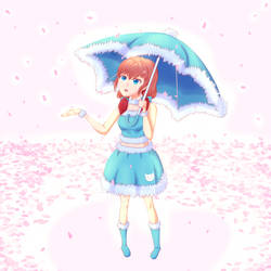 It's Raining...? by DotLia
