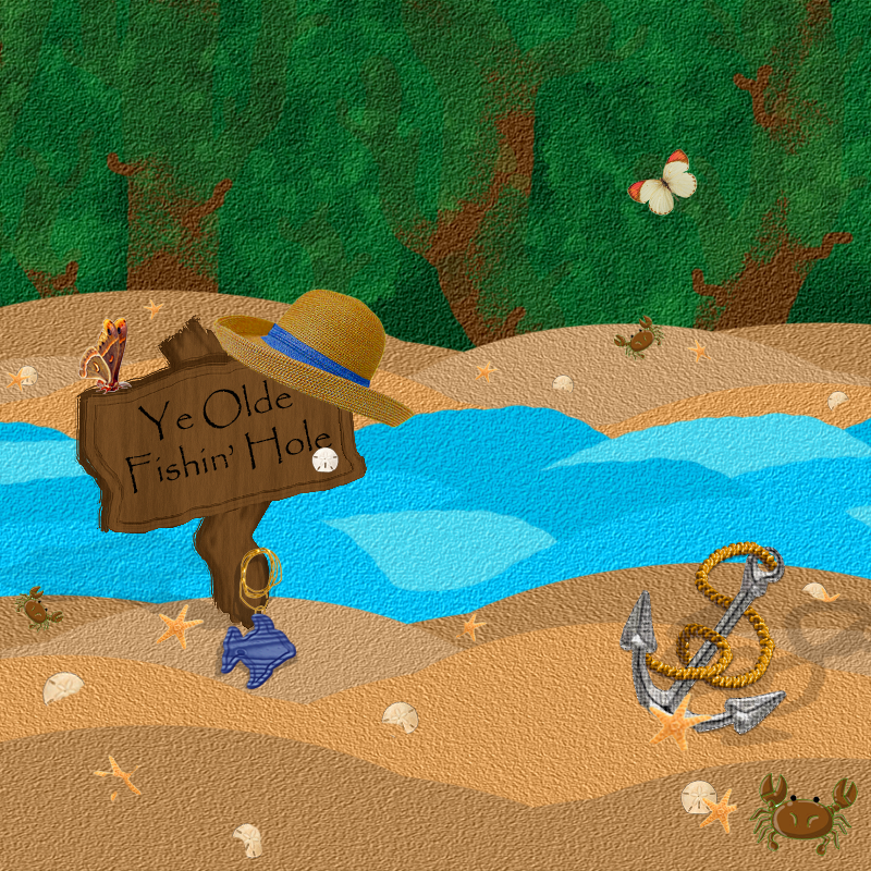 Ye Olde Fishin' Hole by DRACODOPTABLES