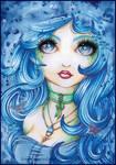 - The Blue Maiden - by DazedPink