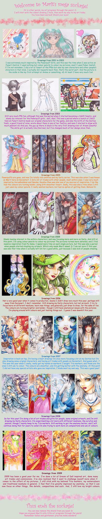Marit's Art Progress by DazedPink