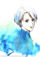 Yuri on Ice: Victor N by mnieva