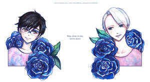 Yuri on Ice: Stay close to me, never leave by mnieva