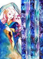 Rising Aurora: Salt and Flowers by mnieva