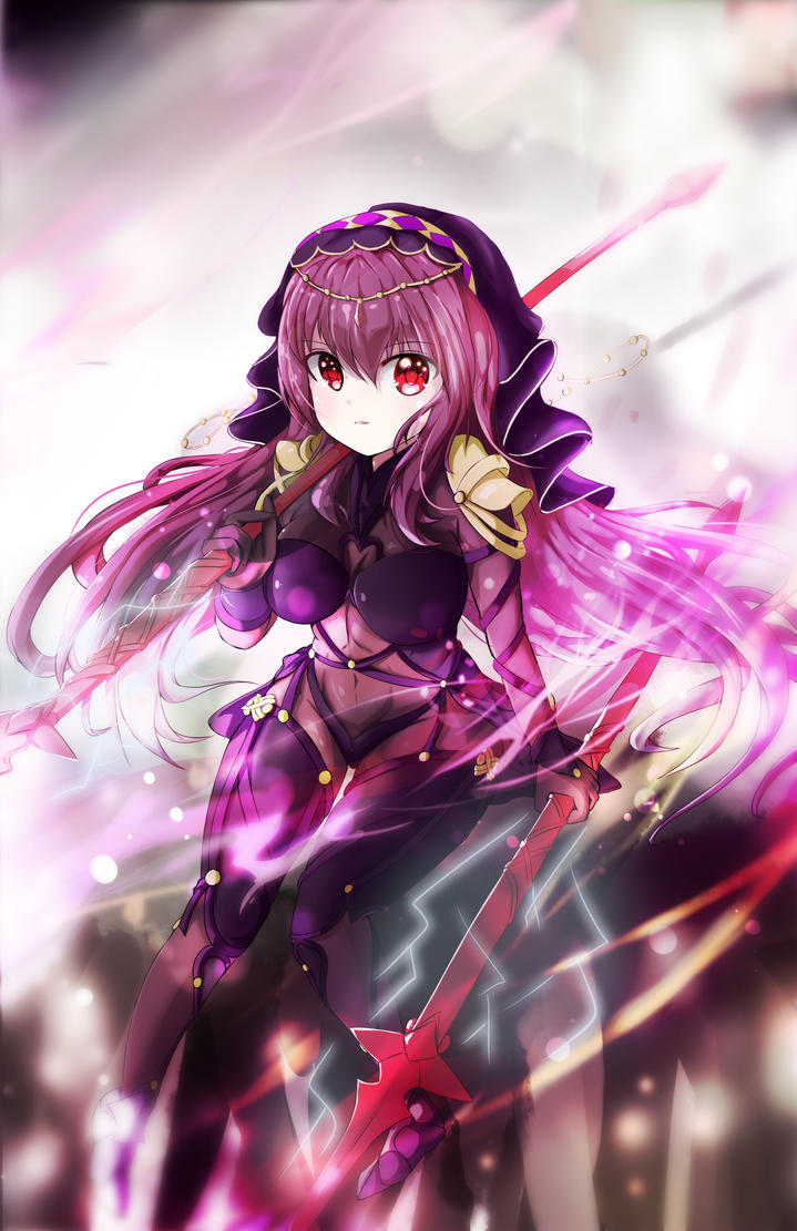 Scathach by Hitokami