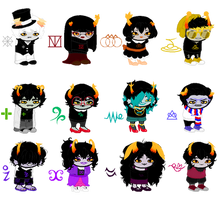 partybound resprites bc yeh by Birdy-Is-Sleepy
